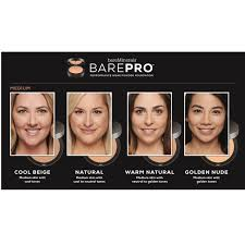 Bareminerals Foundation Color Chart Bareminerals 4 Piece Barepro Make Up Collection Qvc Uk