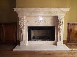 Fireplace Overmantels  Marble Over Mantels  Cast Stone Surrounds Limestone Fireplace Mantels