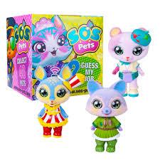 <b>Фигурка</b>-<b>сюрприз Милые зверята</b> SOS PETS — купить в интернет ...