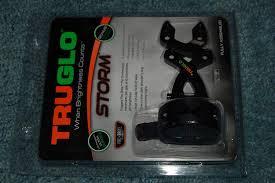 Truglo Storm 5 Pin W Light Amazon Com Compound Bow Storm Fiber Optic 5 Pin Sight 019