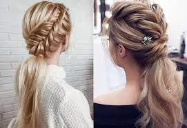 Каждая девушка выпускница хочет рассматривать прически на прически на выпускной 11 класс на длинные волосы с косами выполняются, например, с плетением французской косы, конец, которой. Samye Krasivye I Modnye Pricheski Na Vypusknoj 2021