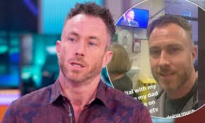 James Jordan reveals he's 'broken hearted' after his father suffers a  second stroke | Daily Mail Online