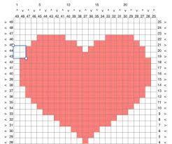 Make A Graphgan Chart Using A Spreadsheet Graph Crochet