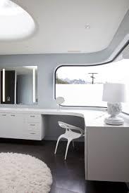 futuristic home office. Curvy Futuristic Architecture Presenting Gray And White Theme Home Office C