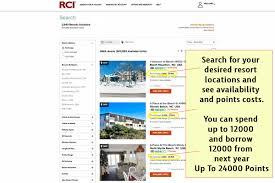Rci Points Chart How To Buy Rci Points
