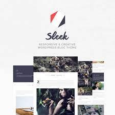 Sleek - Responsive & Creative WordPress Blog Theme – CrazyWPDiscount