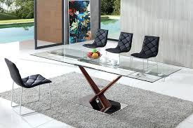 contemporary glass dining table now a extending tables modern room sets