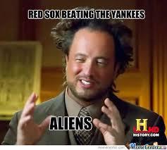 The Greedy Pinstripes: New York Yankees @ Boston Red Sox Meme via Relatably.com