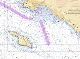 California Nautical Charts 57 Detailed Nautical Chart Southern California