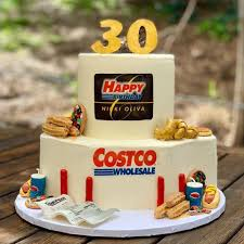 This Costco Birthday Cake Is So Spot On Funny Costco Themed