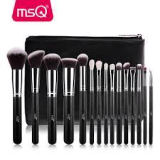 image is loading msq 15pcs makeup brush set cosmetic foundation blending