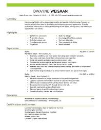 Hair Stylist Resume Hair Stylist Resume Hair Stylist Resume Cover