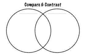 Venn Diagram Printable 2 Circles Template For Venn Diagram Caseyroberts Co