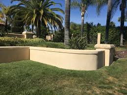 Stucco Retaining Wall Design Garden Retaining Walls San Diego Retaining Wall Contractor