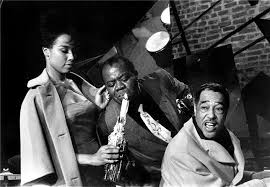 <b>Duke</b> Ellington, <b>Louis Armstrong</b> & Diahann Carroll, Paris, France ...