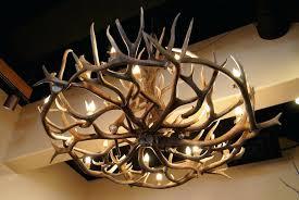 chandelier kit fringe antler
