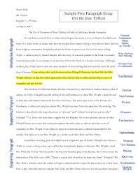 5 Paragraph Essay Examples Download Elegant Proper Essay Format B4 Online Com