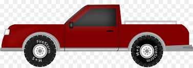Car, Truck, Red, transparent png image & clipart free download