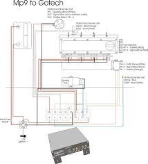 gotech mfi x wiring installation diagram gotech startup maps delphi radio wiring schematics at Delco 09357129 Wiring Diagram