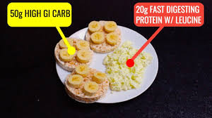 the best pre workout meal for muscle gain