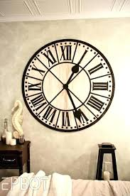 medium of special extra large wall clock find this pin more on giant clocks next