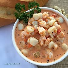 Creamy Tomato Seafood Bisque - a fancy ...