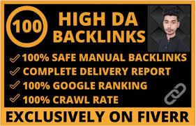 I will make 100 high authority high da quality seo dofollow backlinks -  Gegaf