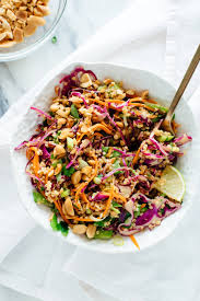 you re going to love this colorful crunchy thai peanut quinoa salad it s