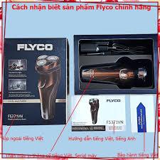 Giá Không Tưởng) Máy cạo râu hãng Flyco 3 lưỡi dao có chức năng tỉa tóc  FS330VN FS360VN FS371VN giảm chỉ còn 392,940 đ