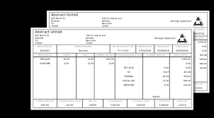 Paycheck Stub Layout How To Make A Pay Stub Free Step 3 Of 5 Detailed And Easy