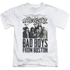 Bad Boy T Shirt Size Chart Aerosmith Little Boys Bad Boys T Shirt