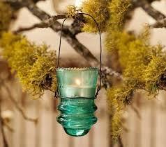30 creative ideas using vintage glass insulators