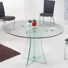dining table reclaimed great round glass tables with multipurpose round glass tables for home
