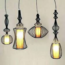 wrought iron pendant lights forged lighting light fixtures mini