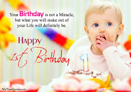 First Birthday Quotes Gorgeous Happy 48st Birthday Quotes For New Born Baby Girl And Baby Boy