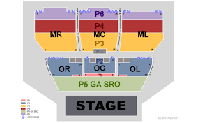Grand Sierra Resort Theatre Seating Chart Concerts General Admission