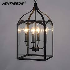 cage pendant lighting. Northern Europe Glass Cage Pendant Light Loft Vintage Birdcage Lights Lamp Metal Hanging Lamps Lighting G