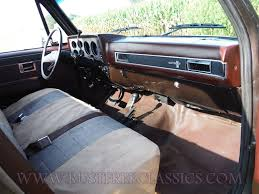 87 K20 Scottsdale fuel injected Brown 4x4 1987 Chevy