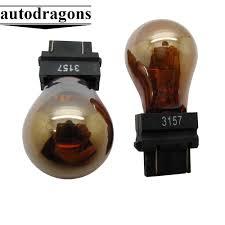 Stealth Light Bulbs Us 24 99 10 Pcs High Quality Py21w S25 Bau15s 3157 4157 Bay15d Chrome Stealth Silver Amber White Light Bulbs Indicator Lamp In Car Headlight