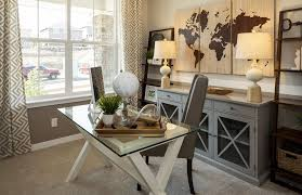 pottery barn home office. Traditional Home Office With Nolan Bookcase, Pottery Barn Ava Glass Display Wood Desk (Discontinued