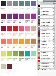 Adobe Cmyk Color Chart Color Latelier