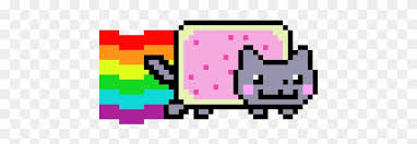 Nyan Cat Graph Paper Manqal Hellenes Co Nyan Cat Rainbow Gif