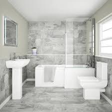 modern bathroom tile gray. Grado Grey Tiles Modern Bathroom Tile Gray