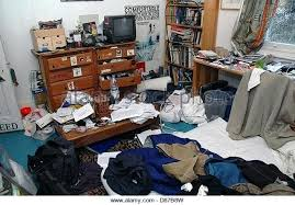 Superior Messy Teen Bedroom Very Messy Teenage Students Bedroom Stock Image Home  Improvement Tv Show House . Messy Teen Bedroom ...