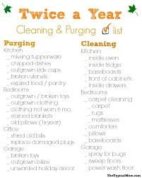 House Cleaning Checklist The Typical Mom