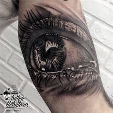 тату глаз тату глаз реализм чб тату глаз на руке