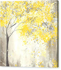 grey yellow wall art yellow and gray canvas wall art remarkable prints fine home interior 4 grey yellow wall art