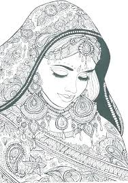 Indian Coloring Pages Zensolosentarseorg