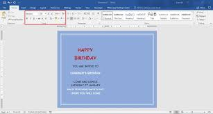 how to make a report card on microsoft word how to make birthday cards with microsoft word 11 steps