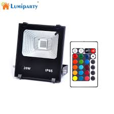 Rgbw Panel Light Lumiparty High Power 20w Rgbw Led Project Lamp Light Led